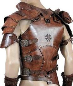 LARP costumeMale LARP Leather Armor » LARP costume
