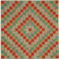 Picnic Around the World Quilt | FaveQuilts.com