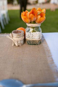 burlap weddings. Photography by jeremystandley.com.