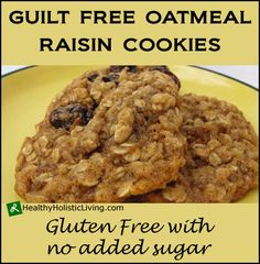 Advertisement  Oatmeal Raisin Cookies A soft oatmeal rasin cookie right out of the oven is a tasty treat that can also be nutritious. That's right — an oatmeal cookie does supply a good dose of certain nutrients. The occasional oatmeal rasin cookie can satisfy your sweet tooth and is a better option than a... View Article