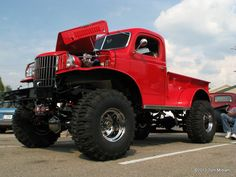 Red Dodge Power Wagon WC