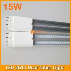 15W 4pins LED 2G11 dual tubes light
