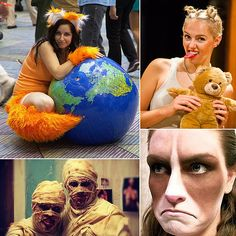 101 Halloween Costumes to Make on the Cheap (I actually pinned it from the first slide of 104. You're welcome.)