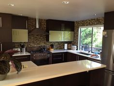 """Want to find out how to get this """"after"""" kitchen in your house? This blog has a great write up from the homeowner. And it could be financed with the FHA 203k home improvement loan."""