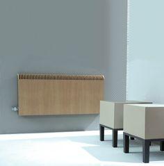 The Jaga Knockonwood, natural and modern #radiator