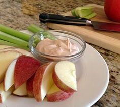 Peanut Butter Honey Fruit Dip | Simple Dish | Quick, Easy, & Healthy Recipes for Dinner