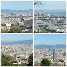 Barcelona vista de Montjüic