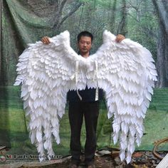 Resultado de imagem para como fabricar a. Black Angel Costume, Angel Wings Costume, Cosplay Wings, Cute Halloween Costumes, Halloween Cosplay, Cool Costumes, Dark Angel Wings, Feather Angel Wings, Ems