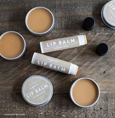 How to Make Organic Lip Balm