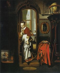 Nicolaes Maes De luistervink (The eavesdropper ) 1656 83.9 x 69.9 cm Oil on canvas Wallace Collection, London