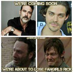 Oh no!    Daryl Dixon and Rick Grimes all the way man