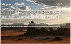 Algerie coucher de soleil tadrart 1