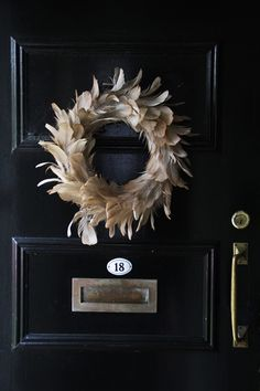 *christmas *wreath *feathers *sibella court *rue