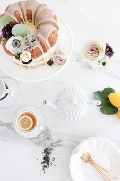 Earl Grey Naked Bundt Cake | MH by Monika Hibbs | Bloglovin'