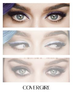 Katy Perry's Colorful Eyes: Get a colorful smokey eye, just like Katy Perry's, in just minutes with COVERGIRL Eyeshadow Quads. In 6 palettes that range in shades from smokey nudes to rich purples, it's easy to create hot makeup looks for your style.