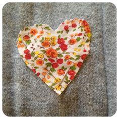 DIY Heart ElbowPatches - TFC - thefriendcollective