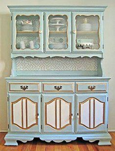 Buffet: makeover of particle board hutch similar to the one I have China Hutch Makeover, Hutch Redo, Repurposed Furniture, Painted Furniture, Furniture Makeover, Diy Furniture, Kitchen Furniture, Nursery Furniture, Furniture Online