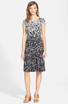 Tory Burch 'Sophia' Print A-Line Dress available at #Nordstrom