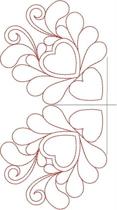 Free Continuous Machine Quilting Designs | Original Embroidery Machine Quilting Designs