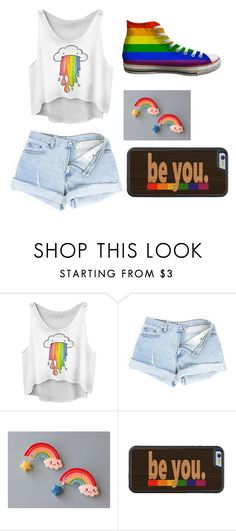 """""""Lgbt"""" by alices-tea-party ❤ liked on Polyvore featuring Baggins"""