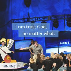 I can trust God, no matter what.  www.elevationchurch.org