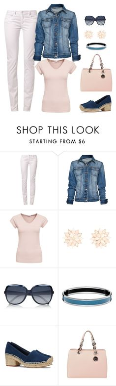 """Untitled #1152"" by gallant81 ❤ liked on Polyvore featuring School Rag, MANGO, Filippa K, Charlotte Russe, Chloé, Tory Burch and MICHAEL Michael Kors"