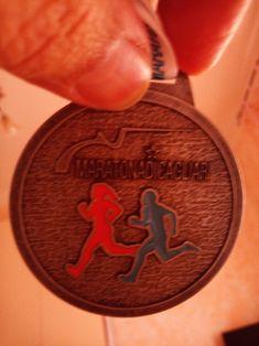 Un'altra #maratona conclusa, un'altra #medaglia conquistata. Peccato che l'organizzazione della Maratona di #Cagliari abbia lasciato molto a desiderare. Come se non bastasse mi hanno fatto pure sbagliare percorso facendomi correre oltre un km in più
