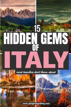 Hidden Gems In Italy | Small towns in italy | Amazing places to stay in italy | Tips and tricks for vacationing in italy | What to see in italy | Bucket list locations in italy | Amazing photo spots in italy | plan your trip to italy | Italy off the beaten track | Secret Places in Italy
