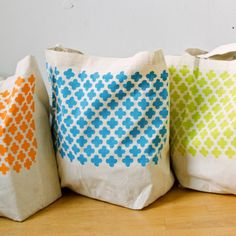 Decorate your blank canvas totes with these easy steps