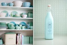 Mint colour kitchenware is going to be mine!