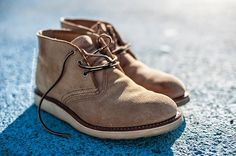 Red Wing 3143 Heritage Work Chukka Sand Mohave Suede Roughout ...