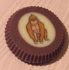 Gorilla Favour  www.rocksonchocs.co.uk
