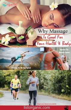 Why Massage Is Good For Health And Body #healthy #fitness #massage #care #healthcar #good health #listorganic