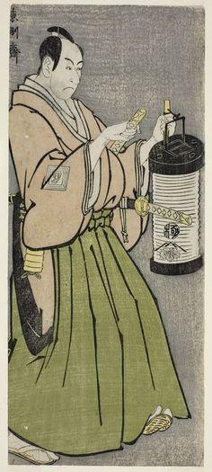 Toshusai Sharaku (flourished 1794-1795), The Actor Ichikawa Omezo I as Tomita Hyotaro