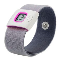 iFever Baby Thermometer Bluetooth Smart Band for Infant Body Temperature Monitor Armband Pink ** You can get additional details at the image link.