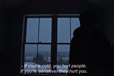 If you're sensitive, they hurt you; & fail to understanding why you're upset.. mcr