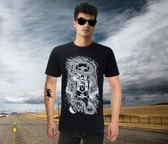 The ENTER THE DRAGON SKATE T-shirt by Rebel 8  - Now only €16
