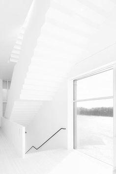 Henning Larsen Architects - Umeå Art Museum, Sweden Photo (c) Åke E:son Lindman. Minimalist Architecture, Space Architecture, Minimalist Interior, Minimalist Home, Architecture Details, Minimalist Design, Interior Stairs, Interior And Exterior, Decorating My First Apartment