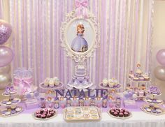 "Sofia the First / Birthday ""Natalie The First"" 
