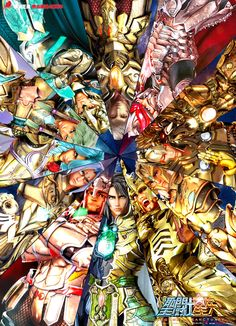 "Card Especial ""Gold Saints"" Saint Seiya Legend of Sanctuary #saintseiya"