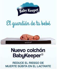 El nuevo colchón de BabyKeeper, pionero en el mercado, al ser el primer y único colchón  que reduce el riesgo de muerte súbita del lactante, ya disponible en Logista Pharma.
