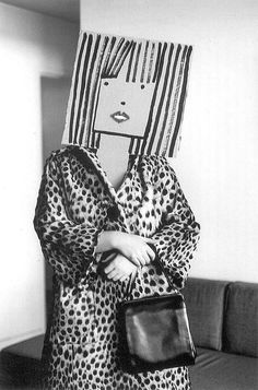 The Best Paper-Bag Masks Happened 50 Years Ago | Hint Fashion Magazine