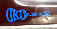 Ukulele Decal  cool Etsy shop