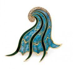 Jean Fouquet brooch. Shopping de bijoux @ Artcurial - Briest-Poulain-F.Tajan - Paris