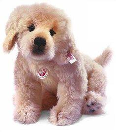 Steiff Lumpi Golden Retriever Puppy  EAN 038594
