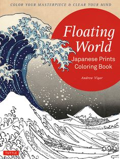 Handmade by Deb: Japanese Prints Coloring Book Review & Giveaway
