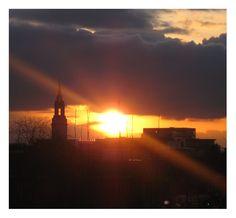 London Bermondsey Sunset