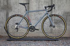 PURE BROS | Stahlrahmen Cyclocross-RAL7000
