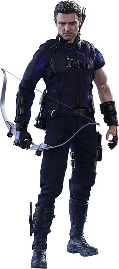 Marvel Hawkeye Sixth Scale Figure by Hot Toys   Sideshow Collectibles