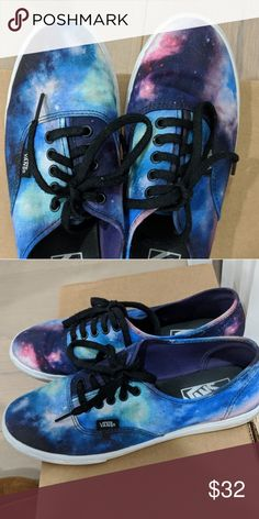 Galaxy Print Vans Sneakers This print is one of a kind and discontinued. Vans Shoes Athletic Shoes